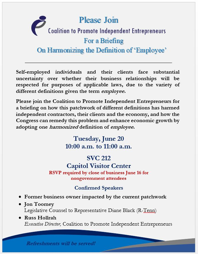 Briefing on harmonizing the definition of employee click here to register stopboris Gallery